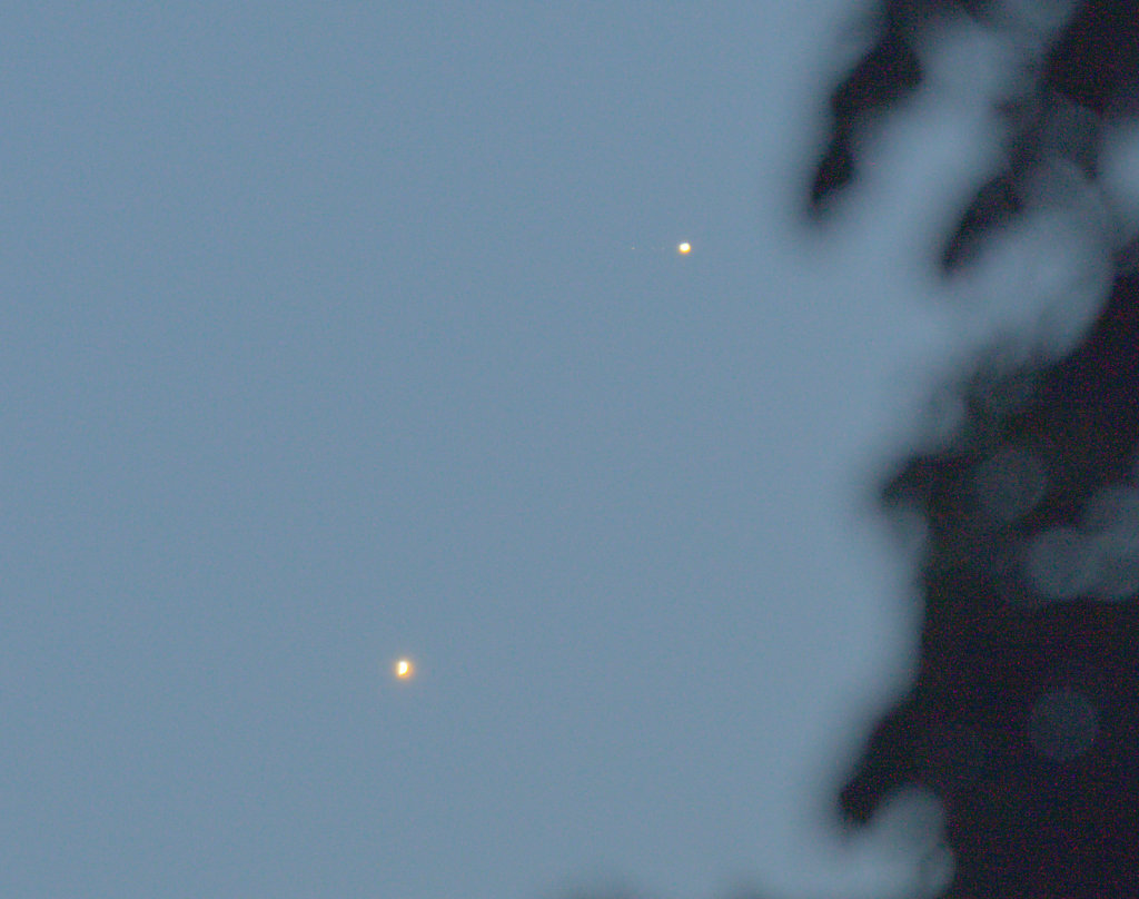 Venus & Jupiter conjunction